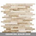 Acapulco Mosaic Stick Travertine Tile