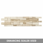 Acapulco Travertine Panel Ledger