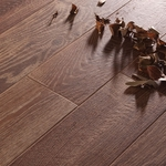 American Natural Raw Hide Wood Plank Porcelain Tile