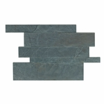 Ardesia Azul Decorative Mosaic Travertine Tile