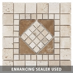 Argos Decorative Travertine Medallion