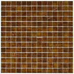 Art Copper Mix Mosaic Glass Tile 4mm