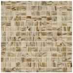 Art Van Gold Mix Mosaic Glass Tile 4mm