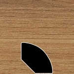 Color 19120Z Laminate Quarter Round Universal