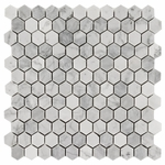 Bianco Carrara Hexagon Marble Tile