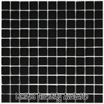 Black Mosaic Glass Tile 8mm