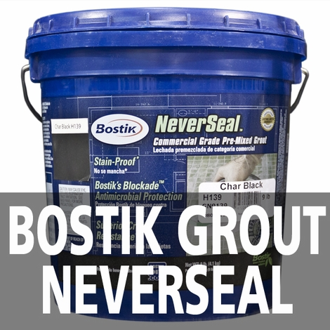 Bostik Neverseal - Premixed Ready to Use Grout You Never Need to Seal!!!!