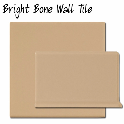 Bright Bone Wall Tile
