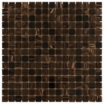 Brown Mix Mosaic Glass Tile 4mm