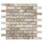 Camila Polished Travertine Mosaic