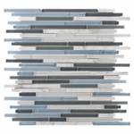 Carisma Oceano Stick Mosaic Glass Tile 10mm