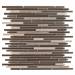 Carisma Oliva Stick Mosaic Glass Tile 10mm