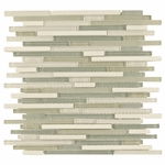 Carisma St. Croix Stick Mosaic Glass Tile 10mm