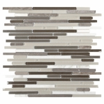 Carisma Terra Stick Mosaic Glass Tile 10mm