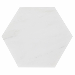 Carrara White Hexagon Marble Tile