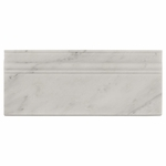 Carrara White Marble Base Molding