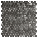 Circles Mosaic Metal Tile