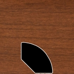 Color 120 Universal Laminate Quarter Round