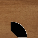 Color 1213 Universal Laminate Quarter Round