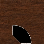 Color 1223 Universal Laminate Quarter Round