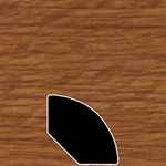 Color 127 Universal Laminate Quarter Round