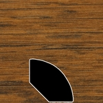 Color 145 Universal Laminate Quarter Round