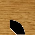 Color 150 Universal Laminate Quarter Round