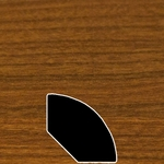 Color 174 Universal Laminate Quarter Round