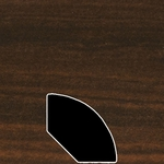 Color 180 Universal Laminate Quarter Round
