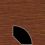 Color 237 Universal Laminate Quarter Round