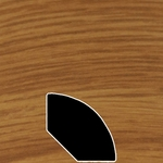 Color 247 Universal Laminate Quarter Round