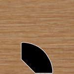 Color 276 Universal Laminate Quarter Round
