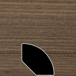 Color 288 Universal Laminate Quarter Round