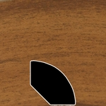 Color 300 Laminate Quarter Round Universal