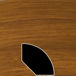 Color 326 Universal Laminate Quarter Round