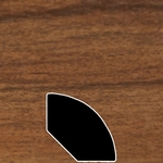 Color 386 Universal Laminate Quarter Round