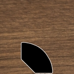 Color 401 Universal Laminate Quarter Round