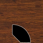 Color 410 Universal Laminate Quarter Round