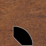 Color 455 Universal Laminate Quarter Round
