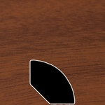 Color 496 Universal Laminate Quarter Round