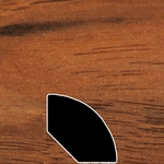 Color 821 Laminate Quarter Round Universal