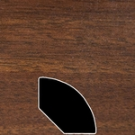 Color 829 Universal Laminate Quarter Round