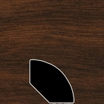 Color 845 Universal Laminate Quarter Round