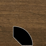 Color 858 Universal Laminate Quarter Round