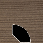 Color 886 Universal Laminate Quarter Round