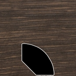 Color 939 Universal Laminate Quarter Round