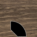 Color 942 Universal Laminate Quarter Round