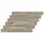 Coloseum Gray Stick Mosaic Porcelain Tile