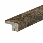Dark Emperador Square Marble Edge