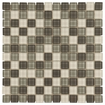 Dominica Mosaic Glass Tile 4mm